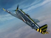 Sword 1/72 Model Kit 72121 P-47N Thuderbolt, 2-in-1 (4x camo)